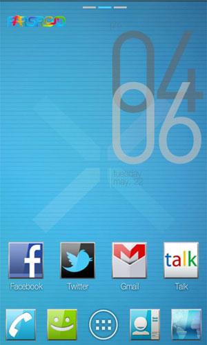 ADW GO Theme - ICS Plates EX Android APK