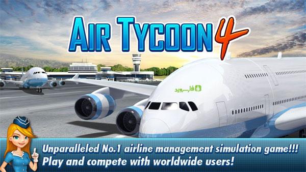 دانلود Air Tycoon 4 - بازی مدیریت خطوط هوایی 4 اندروید + دیتا