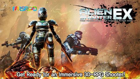 دانلود Alien Shooter EX - بازی تیرانداز بیگانه اندروید + دیتا
