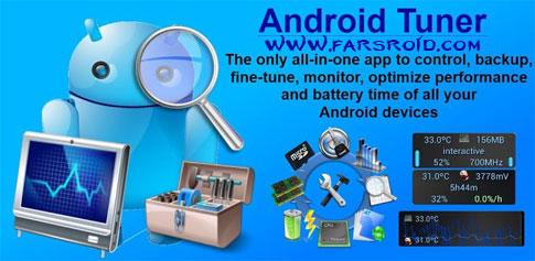 دانلود Android Tuner - مجموعه ابزار کنترل و نظارت اندروید
