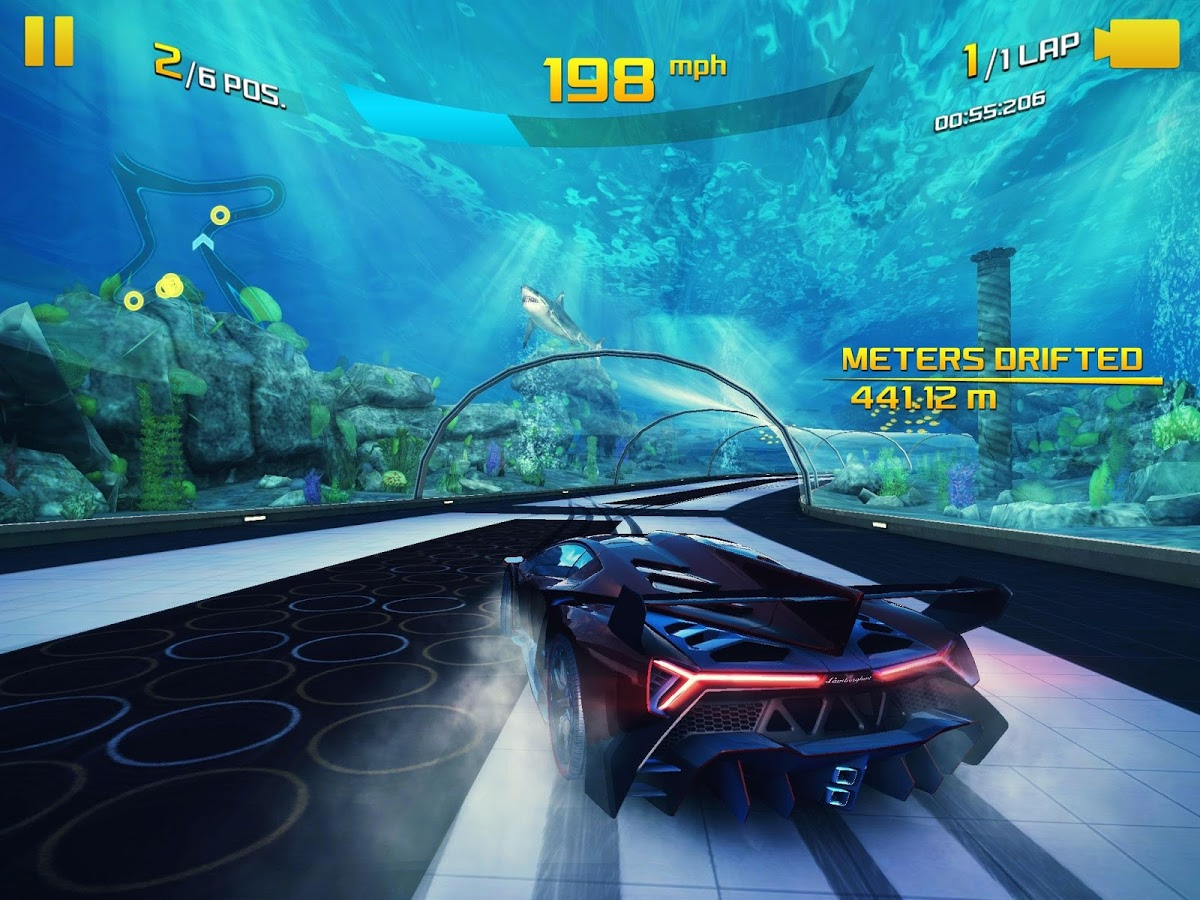 Asphalt 8: Airborne Android بازی اندروید