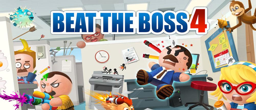 دانلود Beat the Boss 4 - بازی مهیج ضرب و شتم رئیس 4 اندروید + دیتا
