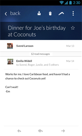 Boomerang Androidبرنامه اندروید