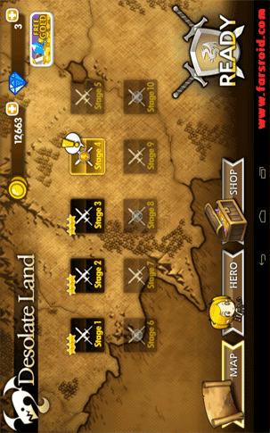 Brave Heroes Android بازی اندروید