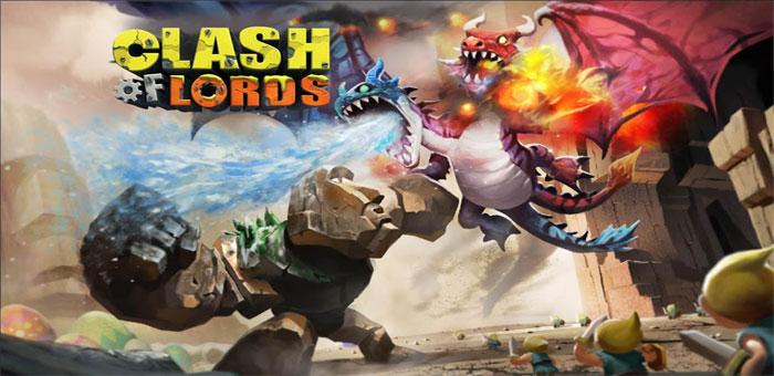دانلود .Clash of Lords - بازی استراتژی جنگ پادشاهان اندروید