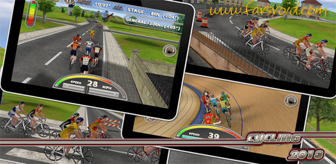 دانلود Cycling2013 Full - بازی مسابقات دوچرخه سواری اندروید
