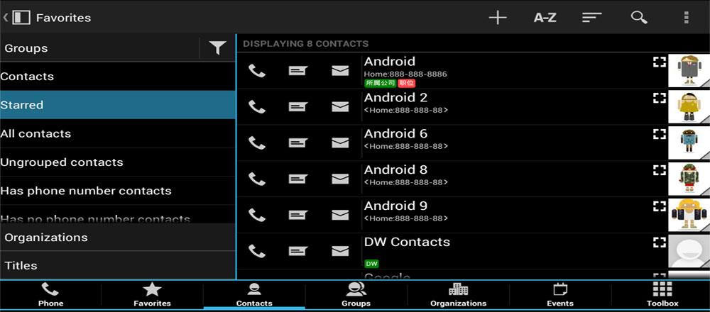 DW Contacts Phone Dialer index دانلود DW Contacts & Phone & Dialer 3.0.1.1 pro – برنامه جذاب و جالب و خوب مدیریت مخاطبین بی نظیر آندروید