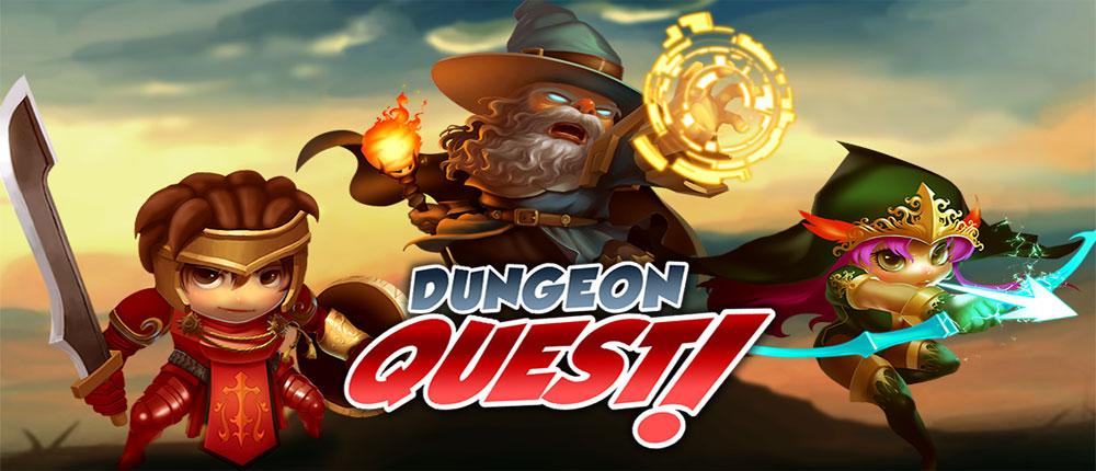 دانلود Dungeon Quest - بازی جنگ های جادویی اندروید