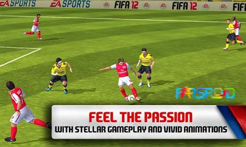 FIFA 12 by EA Sports بازی فیفا 2012 اندروید