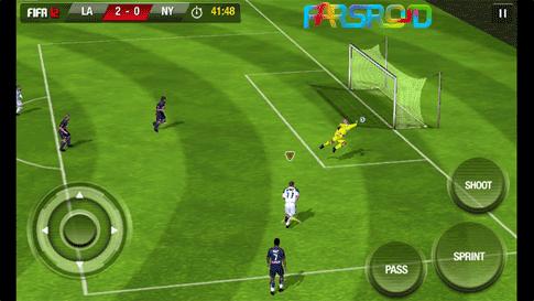 دانلود FIFA 12 by EA Sports - بازی فیفا 2012 اندروید + دیتا