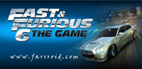 دانلود Fast & Furious 6: The Game 1.0 - بازی مسابقات حرفه ای اندروید + دیتا