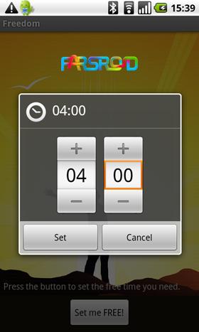 Freedom android برنامه فریدوم اندروید