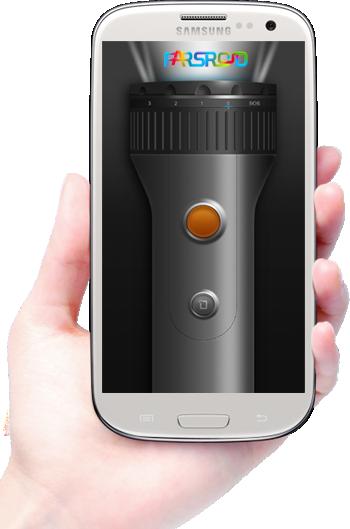 دانلود GO Flashlight - برنامه چراغ قوه قدرتمند گو فلش لایت اندروید