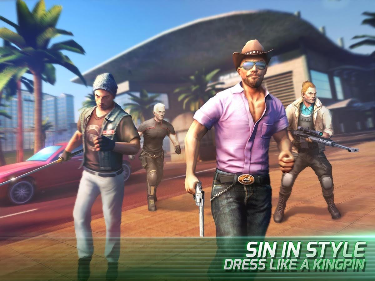 دانلود Gangstar Vegas – mafia game 4.7.0d – بازی گانگستر وگاس اندروید + مود + دیتا