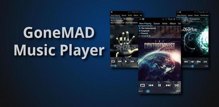 دانلود GoneMAD Music Player - نرم افزار پخش موزیک اندروید