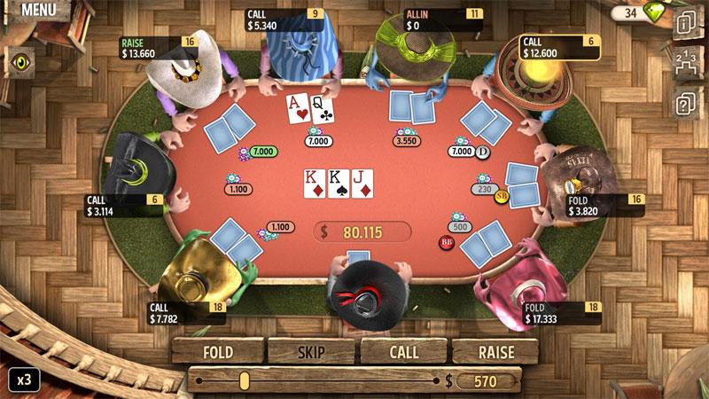 دانلود Governor of Poker Premium 2 3.0.10 – بازی فرماندار کارت باز اندروید + مود