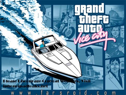 دانلود GTA Vice City 1.03 - بازی جی تی آ اندروید + فایل دیتا
