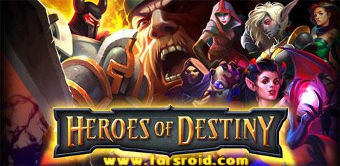 دانلود HEROES OF DESTINY - بازی مبارزه با هیولا اندروید + دیتا