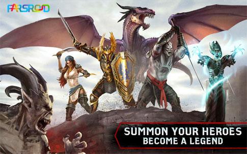 دانلود Heroes of Dragon Age - بازی عصر اژدها اندروید + دیتا !