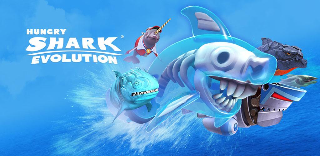 دانلود Hungry Shark Evolution - بازی کوسه گرسنه اندروید + دیتا
