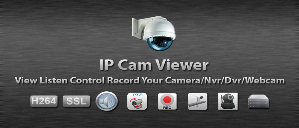 دانلود IP Cam Viewer Pro - برنامه کنترل دوربین مدار بسته اندروید
