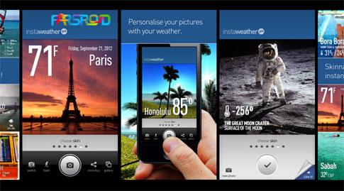 دانلود InstaWeather Pro - نرم افزار هواشناسی متفاوت اندروید!