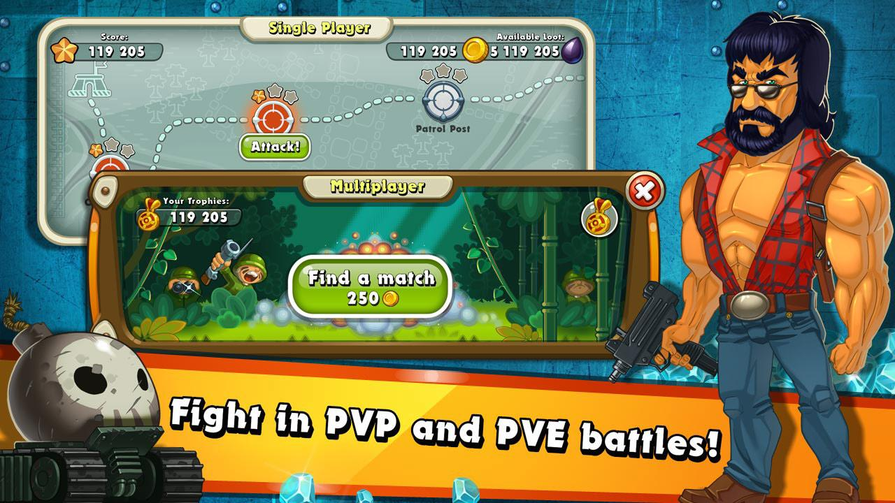 Jungle Heat Android بازی اندروید