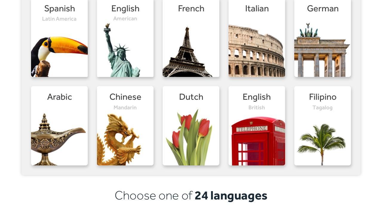Learn Languages: Rosetta Stone