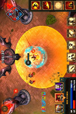 Legendary Heroes Android بازی اندروید