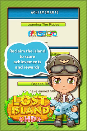 Lost Island HD Android بازی اندروید