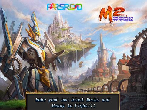دانلود M2: War of Myth Mech - بازی جنگ های اسطوره ای اندروید