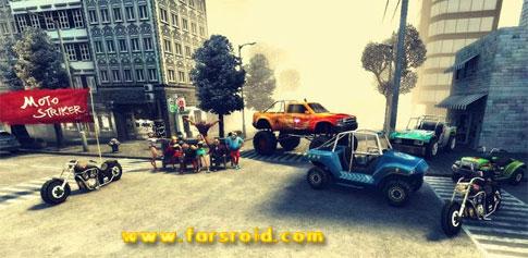 دانلود MOTO STRIKER HD - بازی موتوری هیجانی اندروید !