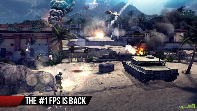 Modern Combat 4: Zero Hour Android