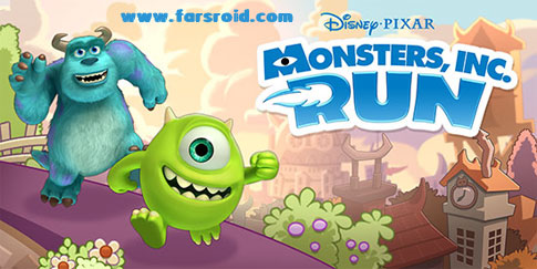 دانلود Monsters, Inc. Run - بازی هیولای یک چشم اندروید + دیتا