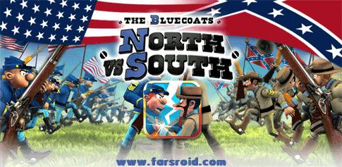 دانلود North vs South - بازی استراتژی شما در مقابل جنوب اندروید + دیتا