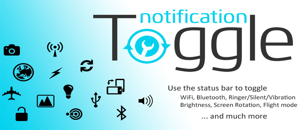 دانلود Notification Toggle - قرار دادن میانبر در استاتوس بار اندروید