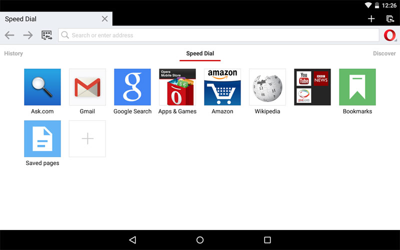 دانلود Opera browser beta - مرورگر اپرا بتا اندروید !