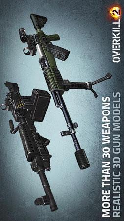 دانلود Overkill 2 1.46 – بازی اکشن و تفنگی اندروید + فایل دیتا