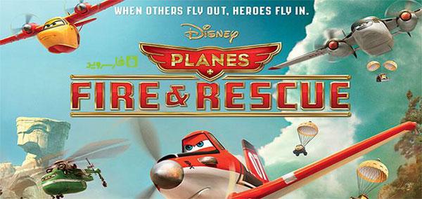 دانلود Planes: Fire & Rescue - بازی هواپیماها 2 اندروید + دیتا