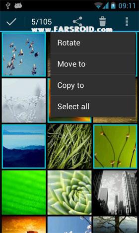 QuickPic Android 2.0 برنامه اندروید