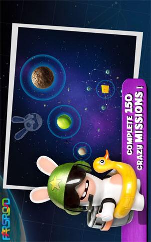 Rabbids Big Bang Android بازی اندروید