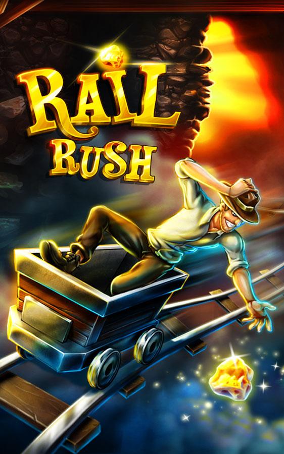 Rail Rush Android بازی اندروید