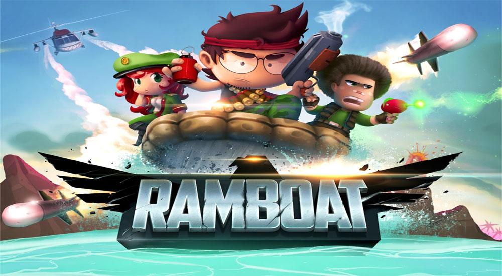 دانلود Ramboat: Hero Shooting Game - بازی شوتر و قایق سواری اندروید + مود