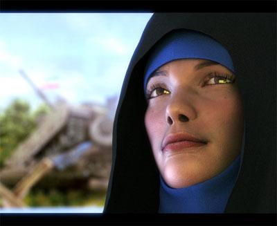 انیمیشن پیام راشل کوری 2 محصول گروه انیمیشن فاطمه زهرا(سلام ا..علیها) می باشد که با تلاش حدود 1 سال و 2 ماه آن هم بدون حمایت خاصی به صورت خودجوش ساخته شده است. این اثر با موضوع نبرد ایران و رژیم صهیونیستی ساخته شده و به آینده ای نه چندان دور به پیروزی سپاهیان اسلام می پردازد.