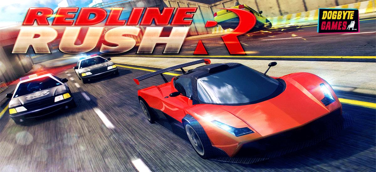 دانلود Redline Rush - بازی پلیسی ماشین سواری اندروید + دیتا