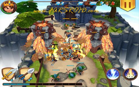 Download Royal Revolt! Android + OBB Game
