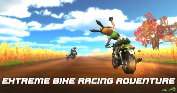 دانلود Rush Star - Bike Adventure - بازی موتورسواری ماجراجویانه اندروید + دیتا