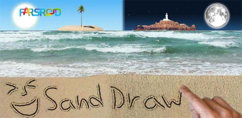دانلود Sand Draw - نقاشی روی شن های ساحل در اندروید