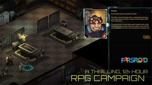 Shadowrun Returns Android بازی اندروید