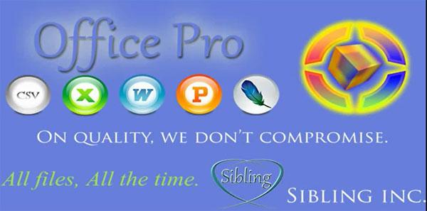 دانلود Sibling Office Pro - آفیس قدرتمند اندروید!